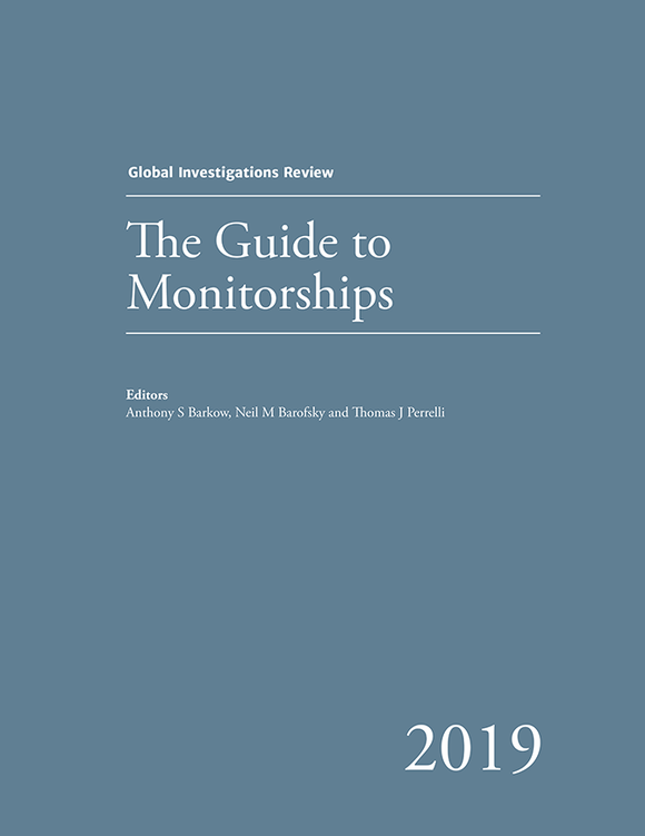 The Guide to Monitorships - Edition 1