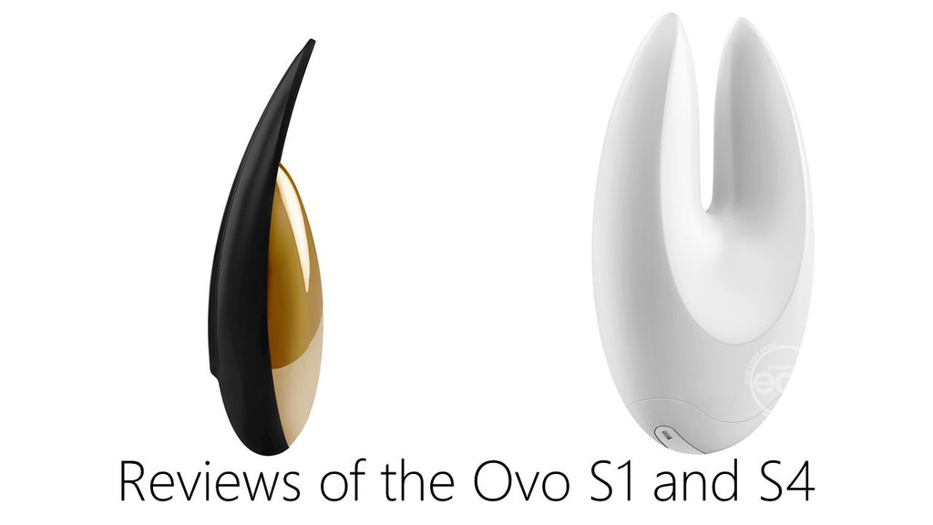Lisey Sweet Reviews OVO S1 and S4 Lay On Vibrators