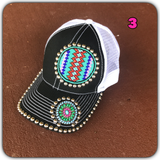 Winter beaded hat sale