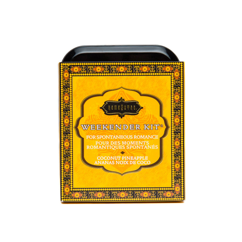 Kama Sutra Weekender Kit In A Tin Coconut Pineapple