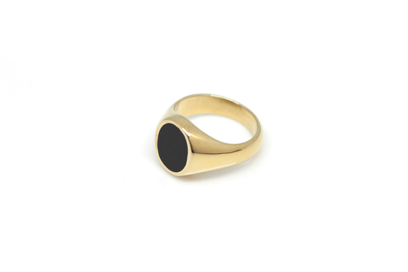 Vayü Maven Ring in Black Onyx