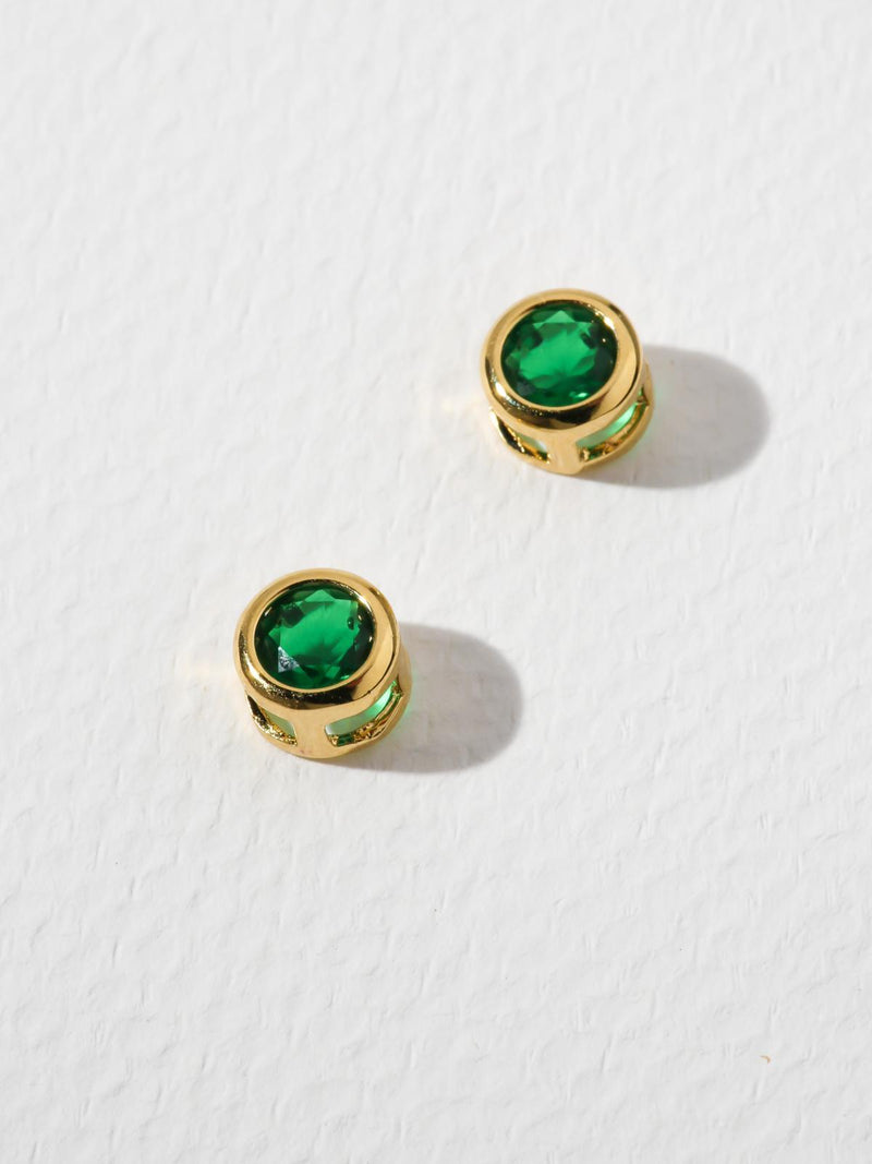 The Bardot Emerald Earrings