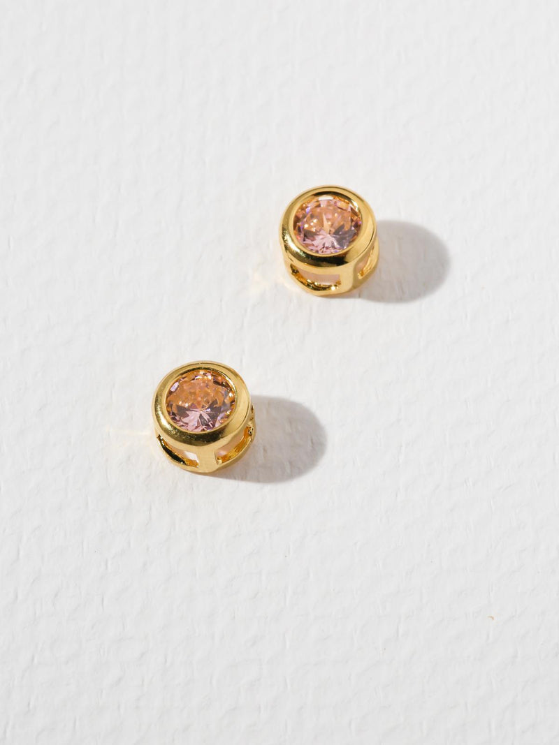 The Bardot Pink Earrings
