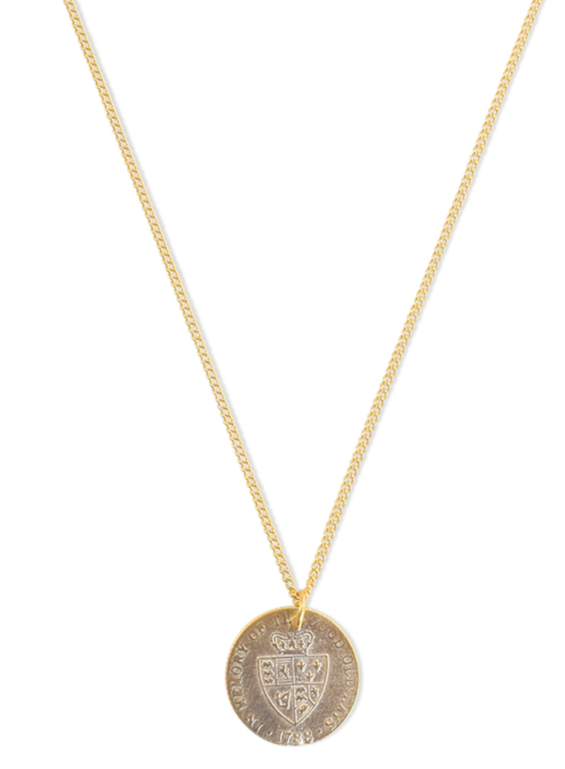 Royal Flush Coin Necklace
