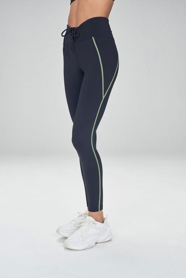 Colorblocked Football Legging