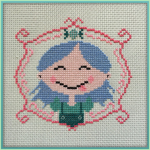 Candy Stitch Pattern- No. 1 Lil' Miss Candy Girl