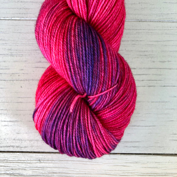 Monthly Colorway- Luscious Fingering July '19 Spicy Pepper Poppers