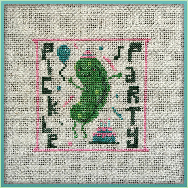 Candy Stitch Pattern- No. 2 Pickle Party