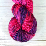 Monthly Colorway- Yummy Fingering July '19 Spicy Pepper Poppers