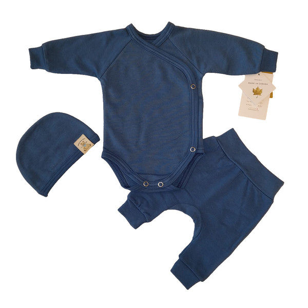 BAMBOO LAYETTE - NOBLE BLUE