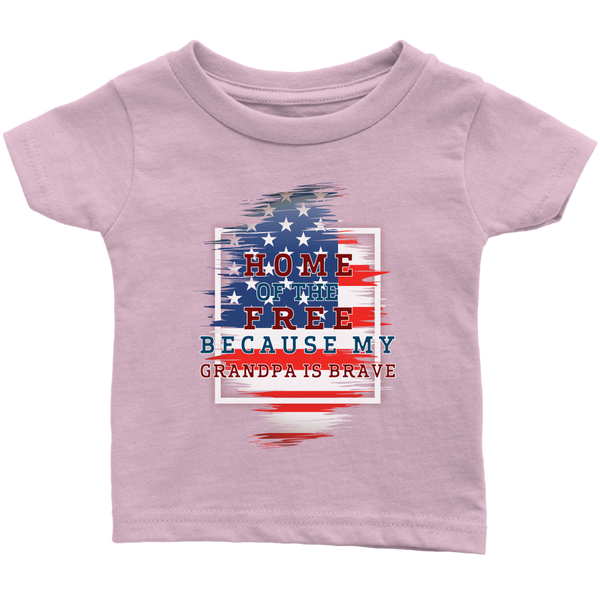 Brave Grandpa Infant T-Shirt