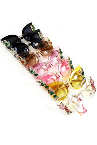 Cat Eye Stone Sunnies