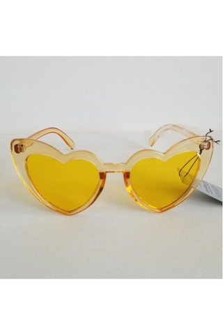 Cat Heart Eye Sunglasses