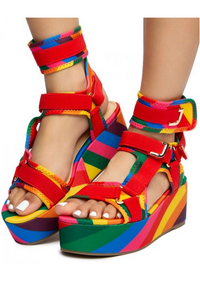 Sandal with Velcro Straps