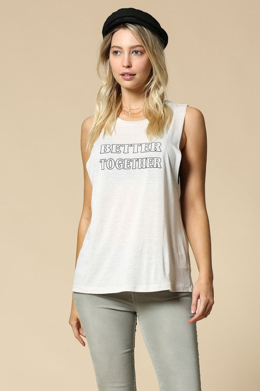 Better Together Graphic Tank