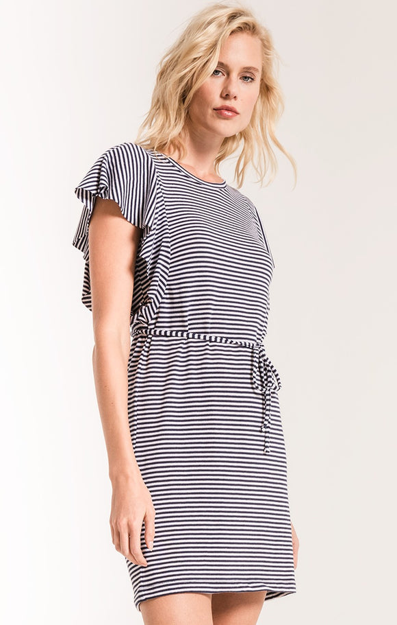 Capri Ruffle Sleeve Dress
