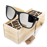 "The ""Say Cheese"" - Bamboo Sunglasses"