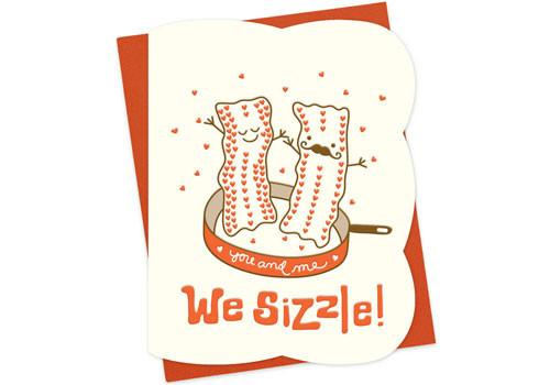 We Sizzle Card