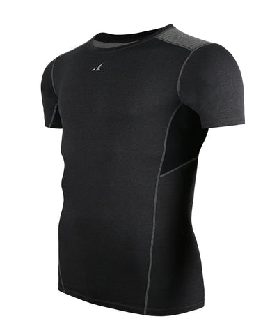 ATHLETE Men's Premium Compression Base Layer Short Sleeve Top Shirt, Style E07 - Athlete Beyond - Men - Top - 1
