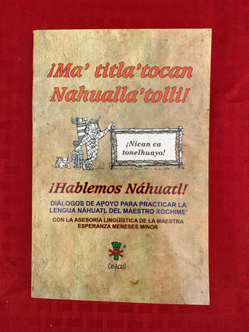 Book - Hablemos Nahuatl (In Spanish)