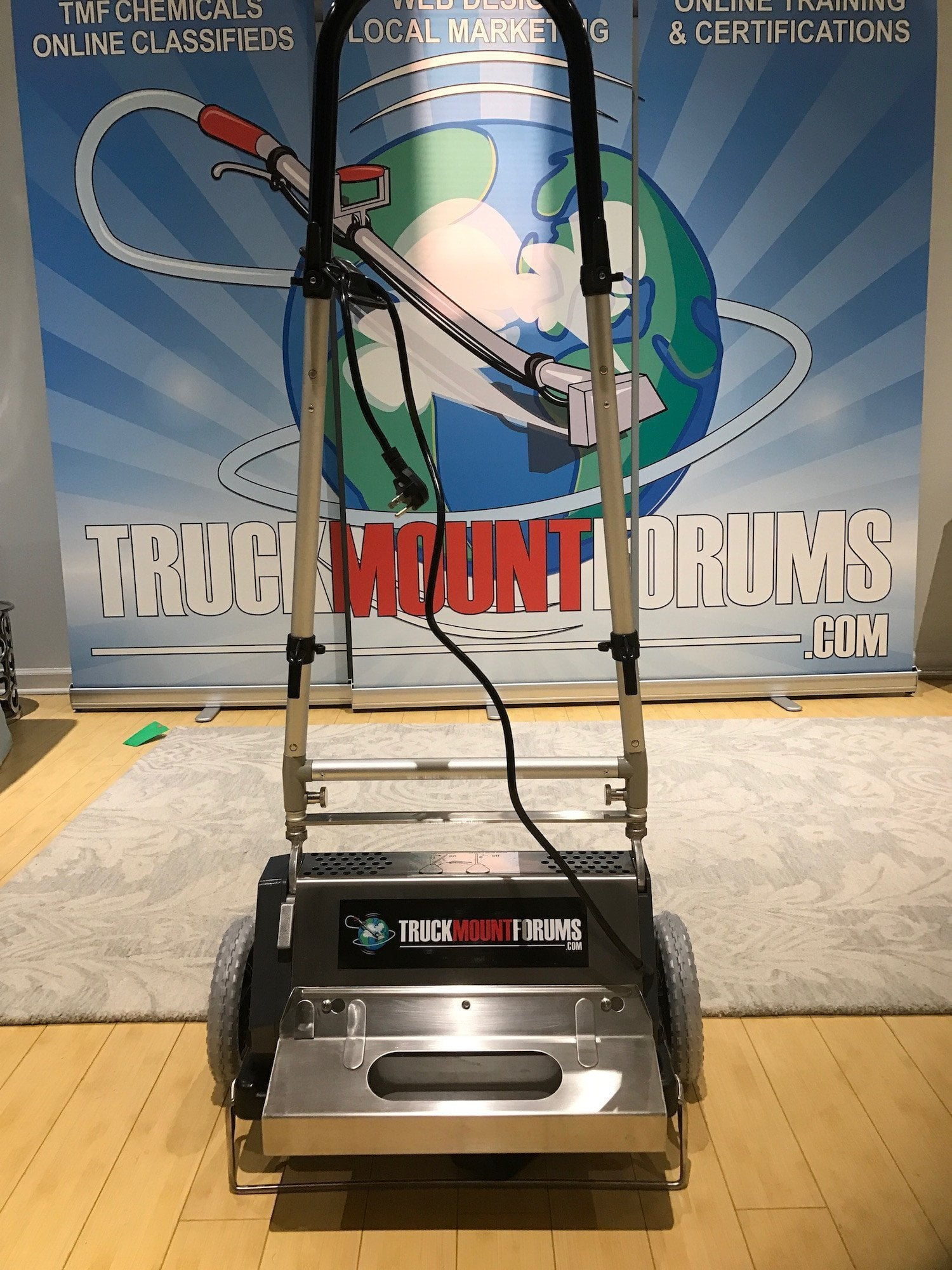 "15"" Multi-Clean Counter Rotating Brush (CRB) - TMF Store: Carpet Cleaning Equipment & Chemicals from TruckMountForums"