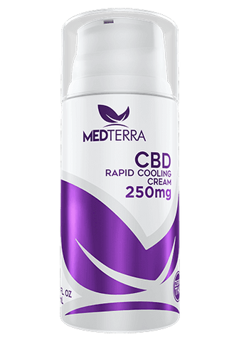 Medterra CBD rapid cooling pain cream.