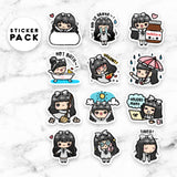 LOLA STICKER PACK 1 - MR044