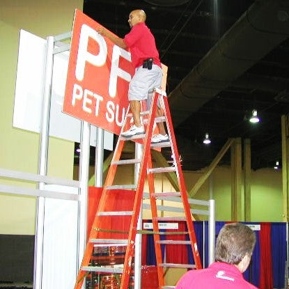 Labor for Setup of Booth/Exhibit (with 110 tradeshow supervision)