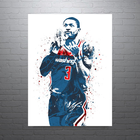 Bradley Beal Washington Wizards Poster - PixArtsy