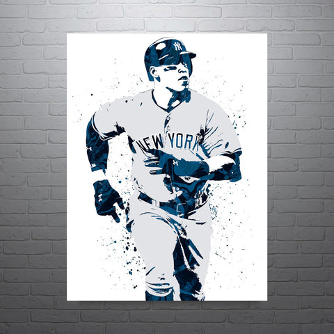 Aaron Judge New York Yankees Road Poster - PixArtsy
