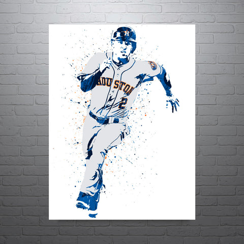Alex Bregman Houston Astros Poster - PixArtsy