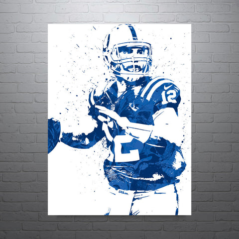 Andrew Luck Indianapolis Colts Poster - PixArtsy