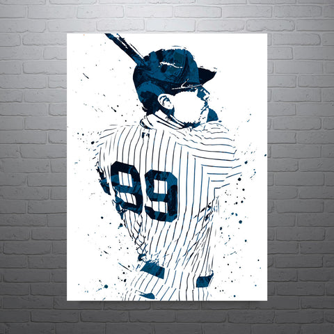 Aaron Judge New York Yankees Poster - PixArtsy