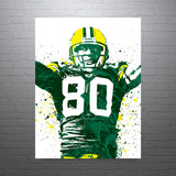 Donald Driver Green Bay Packers Poster - PixArtsy