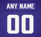 Minnesota Vikings Jersey Poster - Print Personalized Select ANY Name & ANY Number - PixArtsy