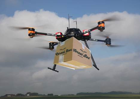FOR IMMEDIATE RELEASE: Cereal Box Bakery announces launch of drone delivery service