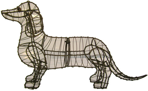 Dachshund Topiary Wire Frame