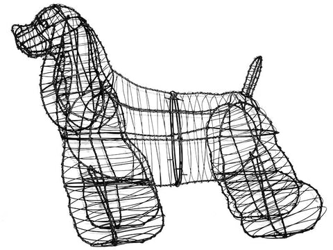 Cocker Spaniel Topiary Wire Frame