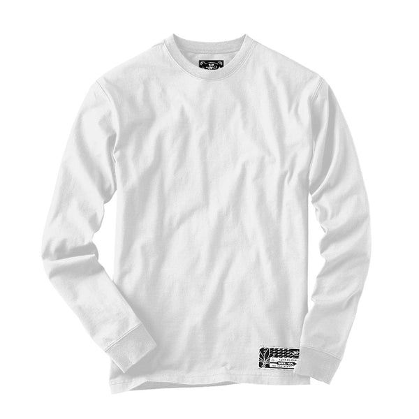 Long Sleeve Blank - White
