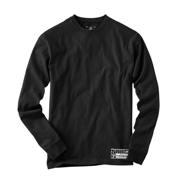 Long Sleeve Blank - Black