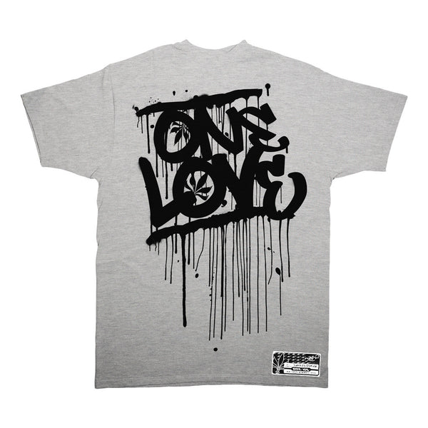 One Love - Athletic Grey / Black