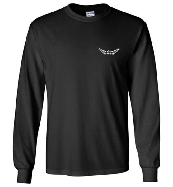 Mom Memorial Long Sleeve T-Shirt - I Have An Angel In Heaven