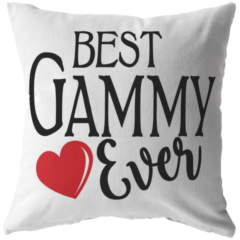 Best Gammy Ever Throw Pillow