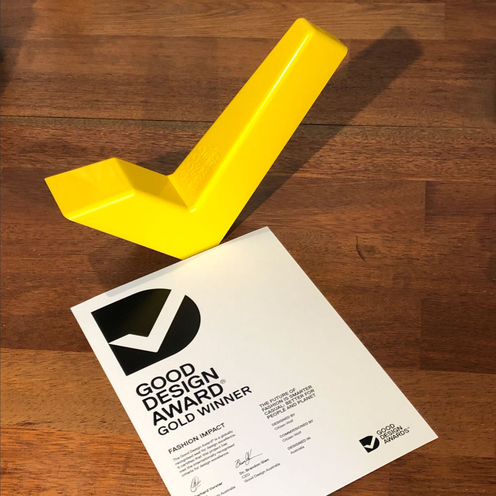 Citizen Wolf wins Gold at the Good Design Awards
