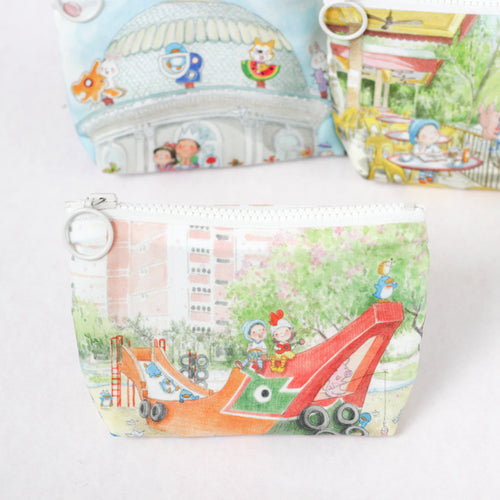 Smooth Sailing Coin Pouch