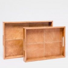 Dante Leather Trays- Made Goods