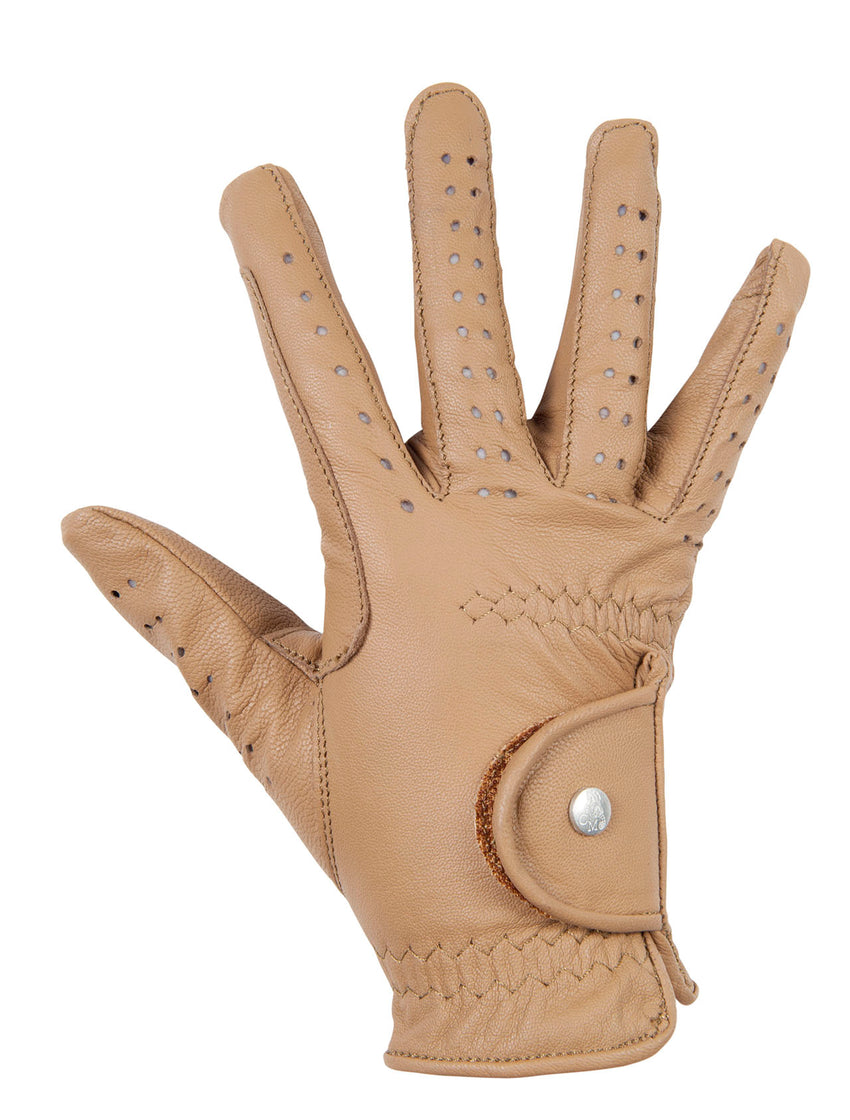 Leather Horse Riding Gloves