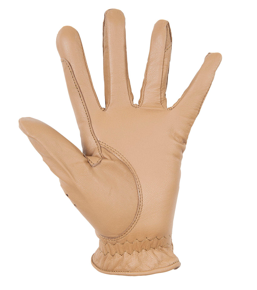 Light Brown Riding Gloves