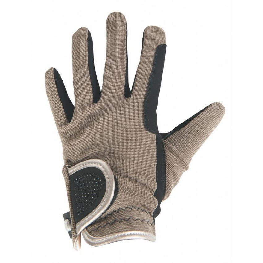 Beige Riding Gloves