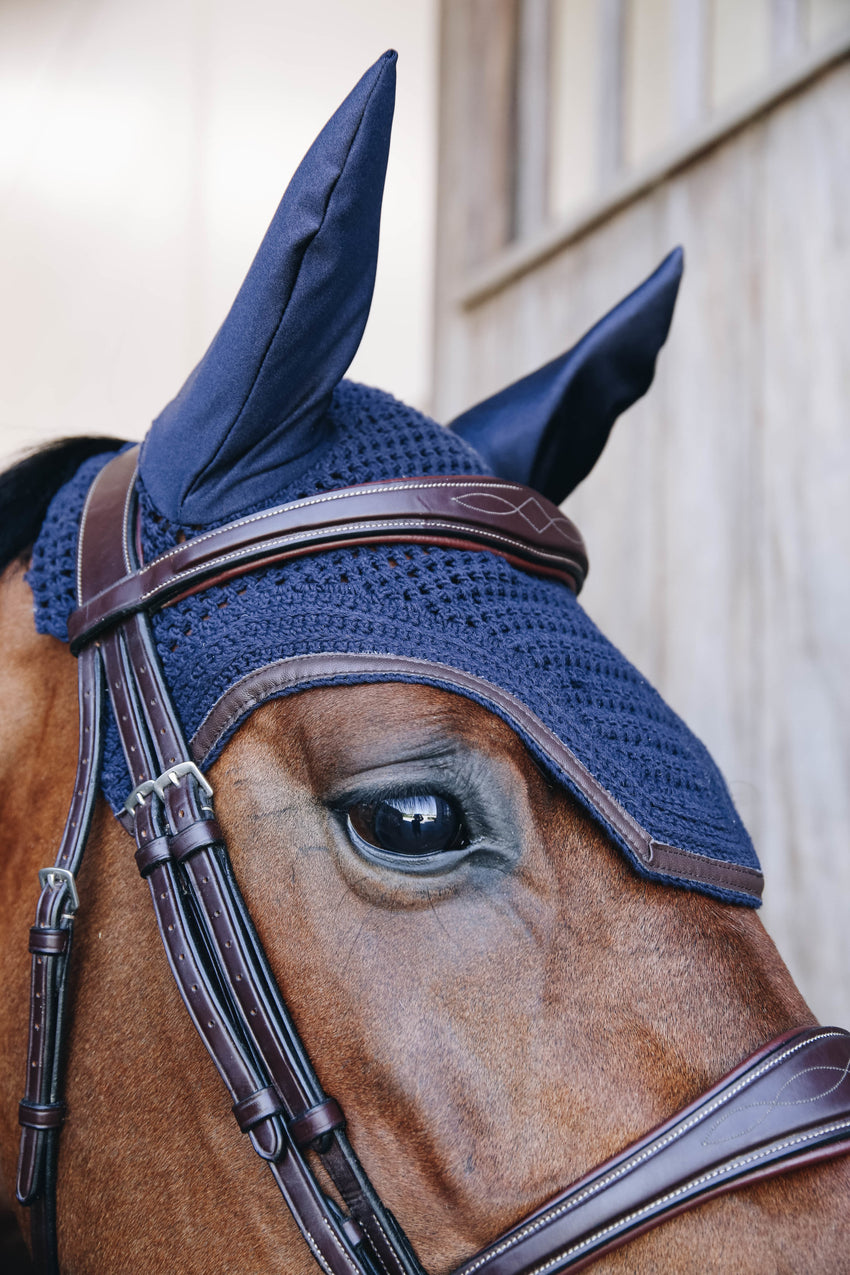 Navy Noiseless Fly Bonnet
